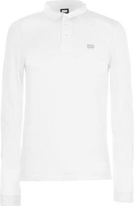 883 Police Mallbec Long Sleeve Polo Shirt
