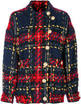 Balmain tweed bomber jacket