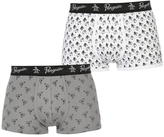 Penguin 2 Pack Printed Trunk Boxers