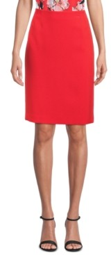 Kasper Stretch Slim-Fit Skirt