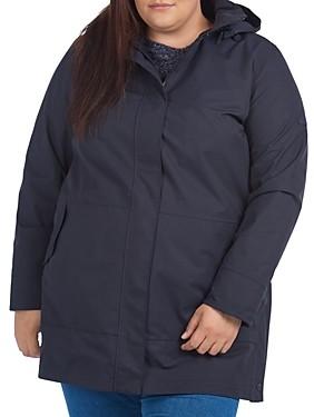 Barbour Plus Roseate Hooded Raincoat