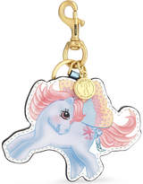 Moschino My Little Pony leather keyring