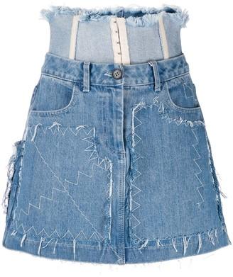 Ruban Stitch Detail Skirt