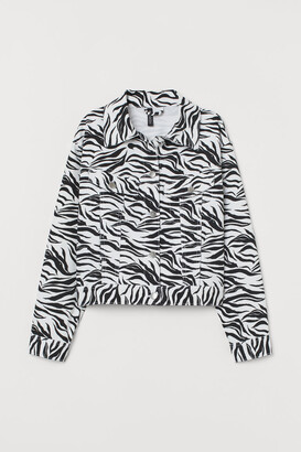 H&M Patterned twill jacket