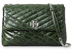Tory Burch Kira Chevron Leather Convertible Shoulder Bag