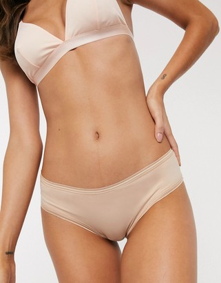 THINX period proof cheeky brazilian brief in beige