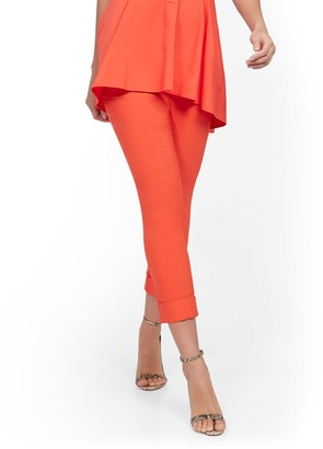 New York & Co. Tall Whitney High-Waisted Pull-On Capri Pant