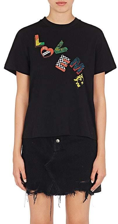 "Amiri Women's ""Love Me"" Cotton T-Shirt"