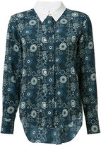Chloé floral print shirt - women - Silk - 36