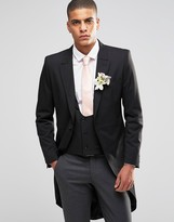 Selected Skinny Morning Wedding Suit Jacket with Stretch