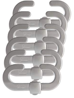 Dream Baby Dreambaby Secure-a-lock (Pack Of 6, Silver colour)