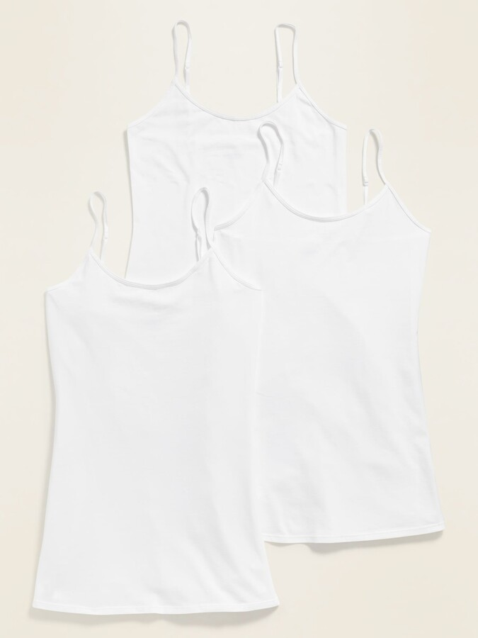 Thumbnail for your product : Old Navy First-Layer Tunic Cami 3-Pack for Women