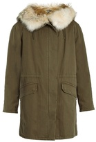 Yves Salomon Fur-lined canvas parka