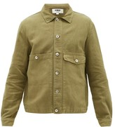 YMC Pinkley Cotton-blend Twill Field Jacket - Mens - Olive Green