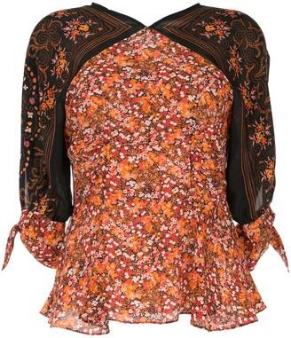 Altuzarra Charity floral print blouse