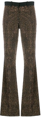 Each X Other Crystal Embellished Flared Trousers