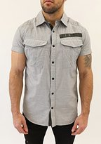 G Star Men's Rovic Tapered Shortsleeve Shirt