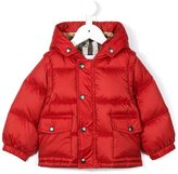 Burberry hooded puffer jacket - kids - Feather Down/Polyester - 9 mth