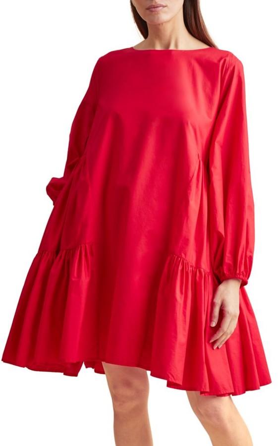 Merlette New York Byward Cotton Trapeze Dress