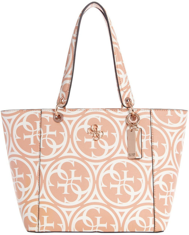 GUESS HR669123RWO Kamryn Double Handle Tote Bag