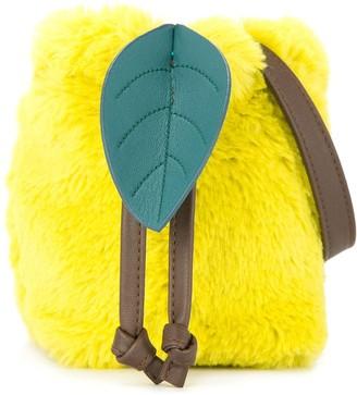 Familiar Faux-Fur Bucket Bag