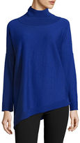 Eileen Fisher Petite Solid Turtleneck Pullover