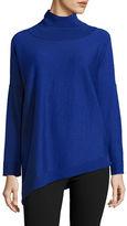 Eileen Fisher Solid Turtleneck Pullover