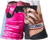 Moschino Barbie print shorts