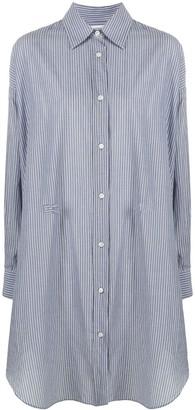 Etoile Isabel Marant Striped Shirt Dress