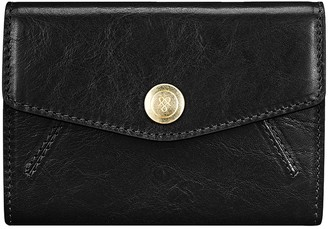 Maxwell Scott Bags Women S Elegant Small Leather Purse In Black