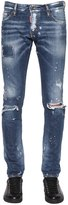 DSQUARED2 17.5cm Slim Ripped Denim Jeans