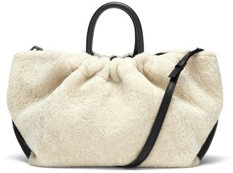 DeMellier Los Angeles bag in shearling