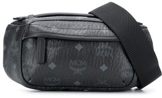 MCM Logo-Print Belt Bag