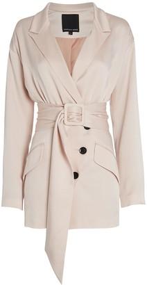Marissa Webb Cyrus Satin Suit Dress