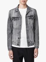 AllSaints Bilton Denim Jacket, Washed Black