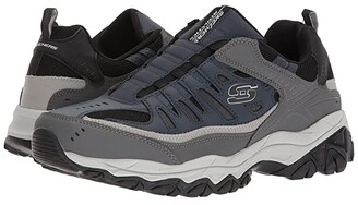 Skechers After Burn M. Fit (Black/Charcoal) Men's Shoes