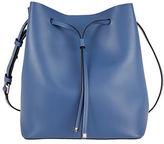 Lodis Blair Gail Medium Leather Drawstring Bucket Bag