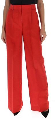 Fendi High Waisted Wide Leg Trousers