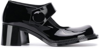 Maison Margiela chunky heel Mary Jane shoes