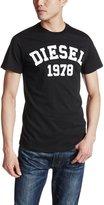 Diesel Men's T-shirt Large Black