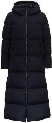 Herno Long-Line Hooded Padded Coat