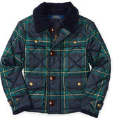 Ralph Lauren Plaid Quilted Twill Jacket
