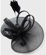 Dorothy Perkins Womens Black Feather Fascinator Clip