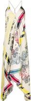 Golden Goose bandana print dress