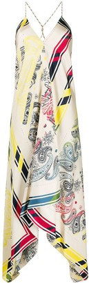 Golden Goose Bandana Print Dress