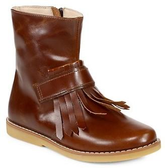 Elephantito Girl's Tassel Leather Boots