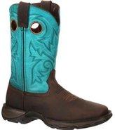 "Durango Western Boots Womens 10"" Rebel Rocker ST 6.5 M Brown DWRD022"