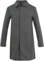 NORWEGIAN RAIN Geneve single-breasted technical-fabric coat