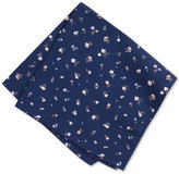 Bar III Men's Midnight Floral Pocket Square, Only at Macy's