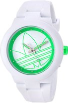 adidas Women's 'Aberdeen' Quartz Rubber and Silicone Casual Watch, Color: (Model: ADH3212)